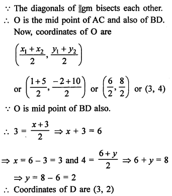RS Aggarwal Class 10 Solutions Chapter 16Co-ordinate Geometry Ex 16B 37