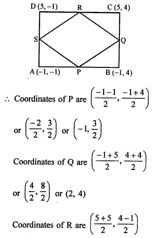 RS Aggarwal Class 10 Solutions Chapter 16Co-ordinate Geometry Ex 16B 46