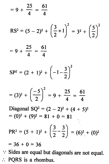 RS Aggarwal Class 10 Solutions Chapter 16Co-ordinate Geometry Ex 16B 48