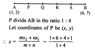 RS Aggarwal Class 10 Solutions Chapter 16Co-ordinate Geometry Ex 16B 6
