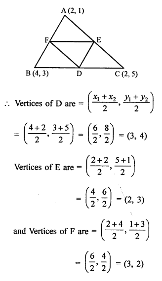 RS Aggarwal Class 10 Solutions Chapter 16Co-ordinate Geometry Ex 16C 16