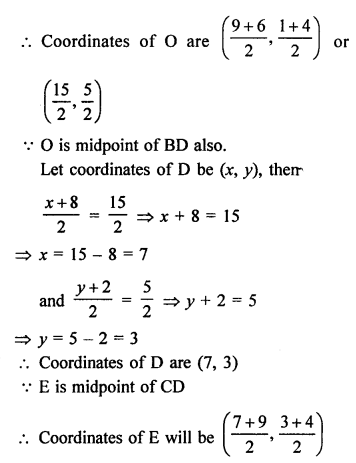 RS Aggarwal Class 10 Solutions Chapter 16Co-ordinate Geometry Ex 16C 24