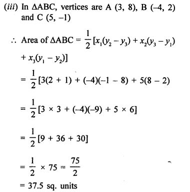 RS Aggarwal Class 10 Solutions Chapter 16Co-ordinate Geometry Ex 16C 3