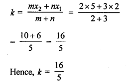 RS Aggarwal Class 10 Solutions Chapter 16Co-ordinate Geometry Ex 16D 11
