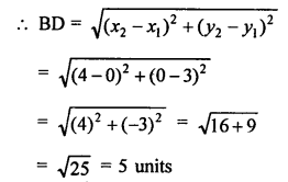 RS Aggarwal Class 10 Solutions Chapter 16Co-ordinate Geometry Ex 16D 3