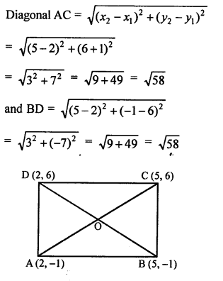 RS Aggarwal Class 10 Solutions Chapter 16Co-ordinate Geometry Ex 16D 7