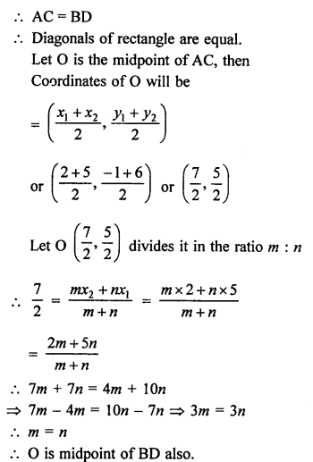 RS Aggarwal Class 10 Solutions Chapter 16Co-ordinate Geometry Ex 16D 8