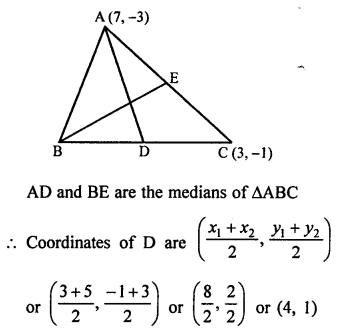 RS Aggarwal Class 10 Solutions Chapter 16Co-ordinate Geometry Ex 16D 9