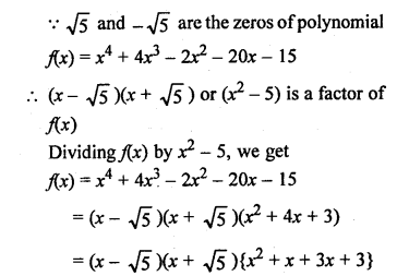 RS Aggarwal Class 10 Solutions Chapter 2 Polynomials Ex 2B 19