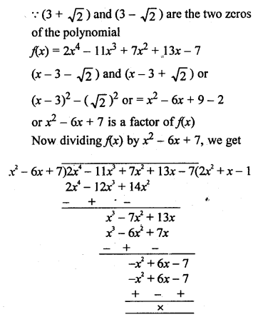 RS Aggarwal Class 10 Solutions Chapter 2 Polynomials Ex 2B 21