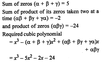 RS Aggarwal Class 10 Solutions Chapter 2 Polynomials Ex 2B 6