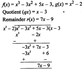 RS Aggarwal Class 10 Solutions Chapter 2 Polynomials Ex 2B 7