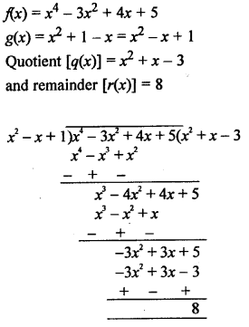 RS Aggarwal Class 10 Solutions Chapter 2 Polynomials Ex 2B 8