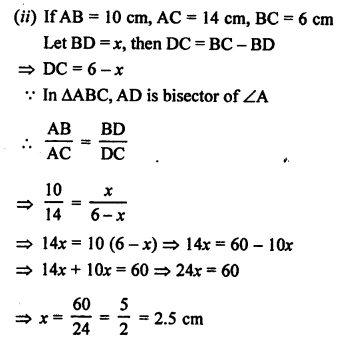 RS Aggarwal Class 10 Solutions Chapter 4 Triangles Ex 4A 10
