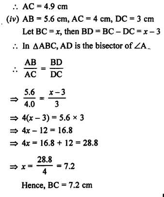 RS Aggarwal Class 10 Solutions Chapter 4 Triangles Ex 4A 12