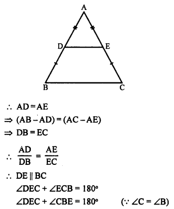 RS Aggarwal Class 10 Solutions Chapter 4 Triangles Ex 4A 24