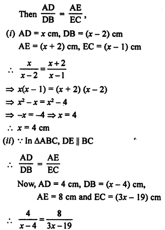 RS Aggarwal Class 10 Solutions Chapter 4 Triangles Ex 4A 4