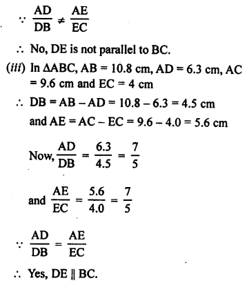 RS Aggarwal Class 10 Solutions Chapter 4 Triangles Ex 4A 7