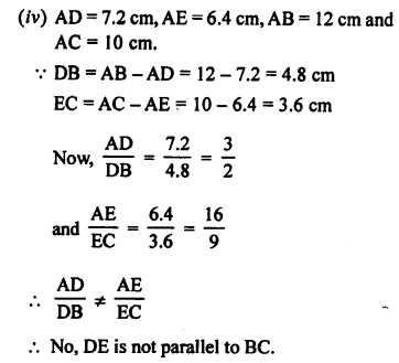 RS Aggarwal Class 10 Solutions Chapter 4 Triangles Ex 4A 8