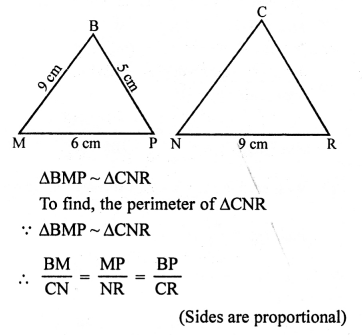 RS Aggarwal Class 10 Solutions Chapter 4 Triangles Ex 4E 17