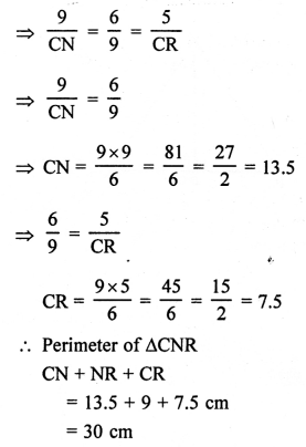 RS Aggarwal Class 10 Solutions Chapter 4 Triangles Ex 4E 18