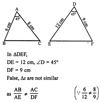RS Aggarwal Class 10 Solutions Chapter 4 Triangles Ex 4E 26