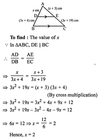 RS Aggarwal Class 10 Solutions Chapter 4 Triangles Ex 4E 4