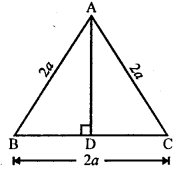RS Aggarwal Class 10 Solutions Chapter 4 Triangles Test Yourself 10