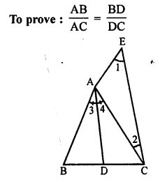 RS Aggarwal Class 10 Solutions Chapter 4 Triangles Test Yourself 16