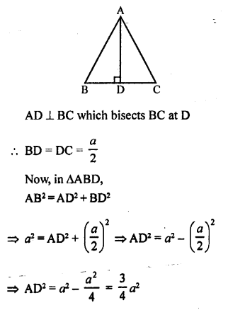 RS Aggarwal Class 10 Solutions Chapter 4 Triangles Test Yourself 18