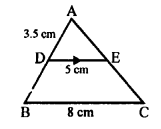 RS Aggarwal Class 10 Solutions Chapter 4 Triangles Test Yourself 2