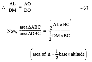 RS Aggarwal Class 10 Solutions Chapter 4 Triangles Test Yourself 25