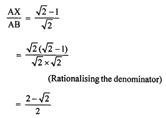 RS Aggarwal Class 10 Solutions Chapter 4 Triangles Test Yourself 29