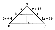 RS Aggarwal Class 10 Solutions Chapter 4 Triangles Test Yourself 7