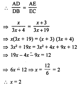 RS Aggarwal Class 10 Solutions Chapter 4 Triangles Test Yourself 8