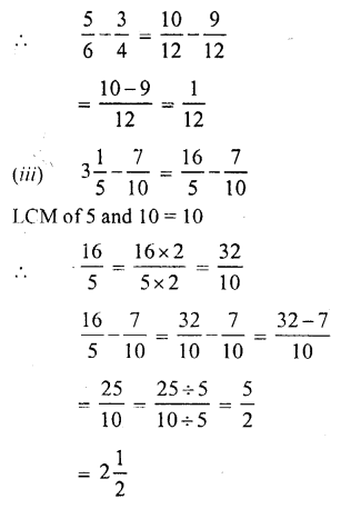 RS Aggarwal Class 7 Solutions Chapter 2 Fractions Ex 2A 16