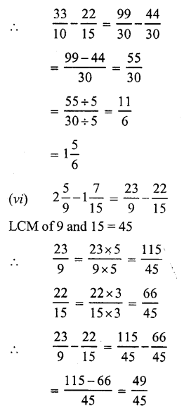 RS Aggarwal Class 7 Solutions Chapter 2 Fractions Ex 2A 18