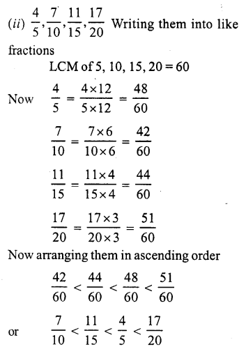 RS Aggarwal Class 7 Solutions Chapter 2 Fractions Ex 2A 5