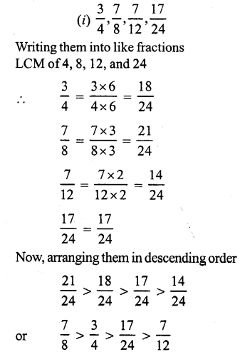 RS Aggarwal Class 7 Solutions Chapter 2 Fractions Ex 2A 6