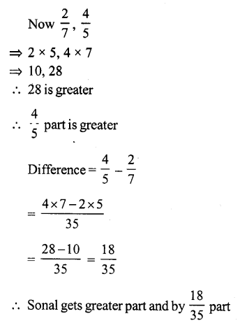 RS Aggarwal Class 7 Solutions Chapter 2 Fractions Ex 2A 9