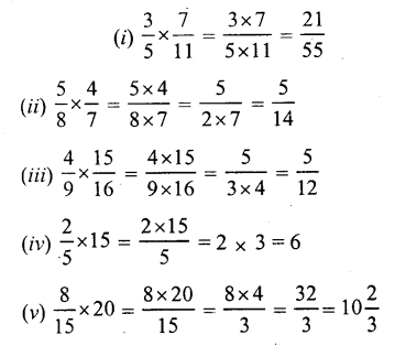 RS Aggarwal Class 7 Solutions Chapter 2 Fractions Ex 2B 1