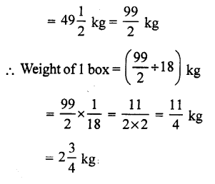 RS Aggarwal Class 7 Solutions Chapter 2 Fractions Ex 2C 7