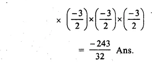 RS Aggarwal Class 8 Solutions Chapter 2 Exponents Ex 2A Q1.2