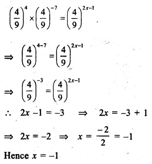 RS Aggarwal Class 8 Solutions Chapter 2 Exponents Ex 2A Q10.1