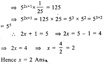 RS Aggarwal Class 8 Solutions Chapter 2 Exponents Ex 2A Q13.1