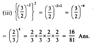 RS Aggarwal Class 8 Solutions Chapter 2 Exponents Ex 2A Q4.2