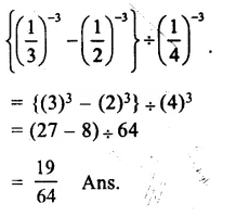 RS Aggarwal Class 8 Solutions Chapter 2 Exponents Ex 2A Q5.1