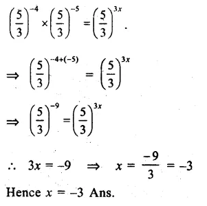 RS Aggarwal Class 8 Solutions Chapter 2 Exponents Ex 2A Q9.1