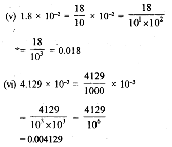 RS Aggarwal Class 8 Solutions Chapter 2 Exponents Ex 2B Q7.3