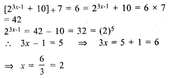 RS Aggarwal Class 8 Solutions Chapter 2 Exponents Ex 2C Q10.1